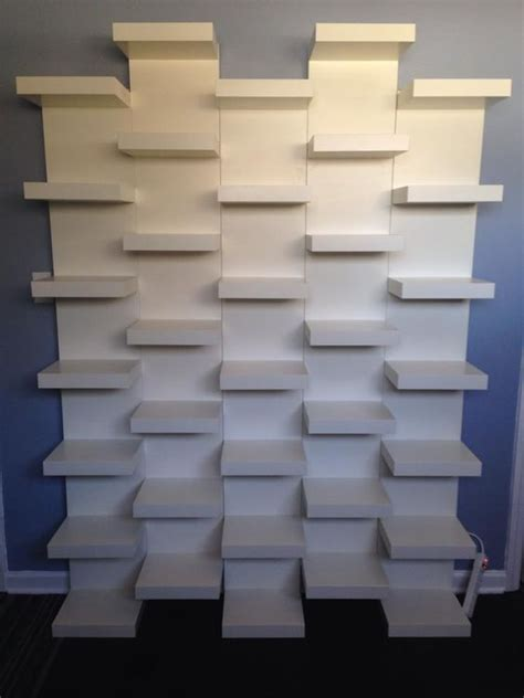 shoe shelves ikea l 233 tag 232 re ikea lack avec 6 casiers les p mots