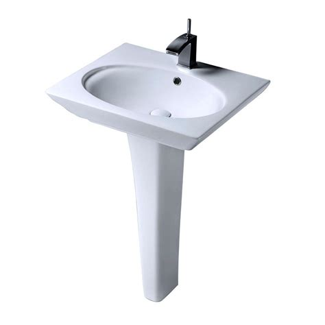 bathroom sink combo barclay products karla 24 in pedestal combo bathroom sink