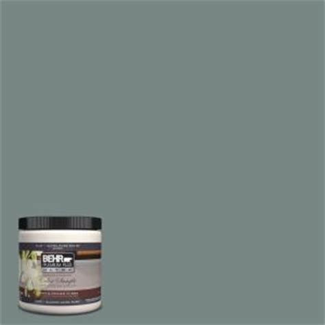 behr premium plus ultra 8 oz ul220 21 juniper ash interior exterior paint sle ul220 21