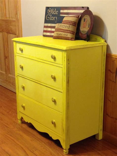 Painted Yellow Dresser by Yellow Farmhouse Dresser Buffet Sideboard Painted Distressed