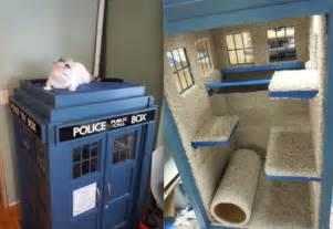 Tardis Cat House Plans 11 Functional Tardises Mental Floss