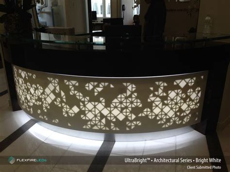 Corian Light by Bluegate Surface Works Illuminates The Custom Cut Corian