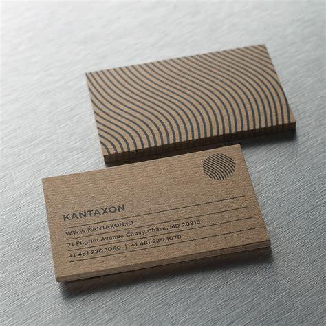 Kraft Business Cards