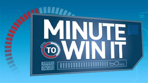 minute to win it challenges to do at home minute to win it nbc