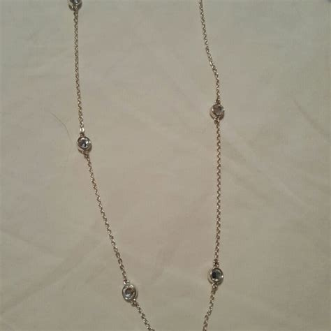 57 premier designs jewelry silver necklace from