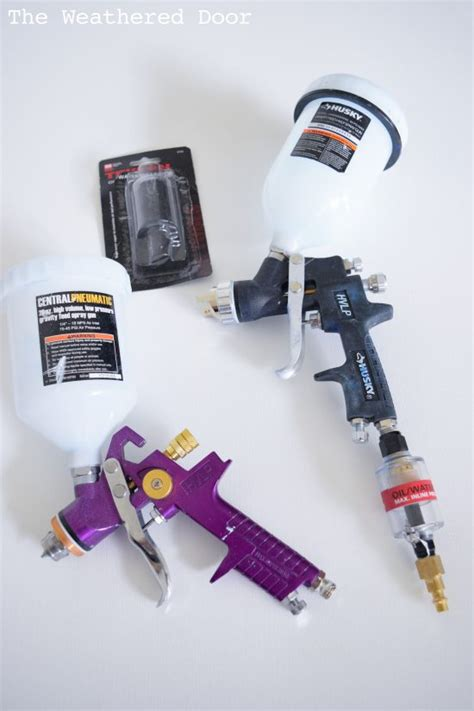 How I Started Spraying Furniture Which Tools Worked And