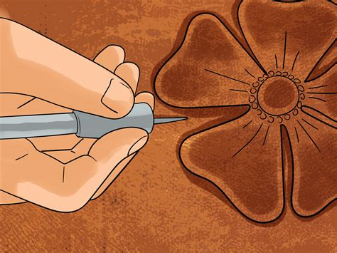Carving Leather how to carve leather 13 steps with pictures wikihow
