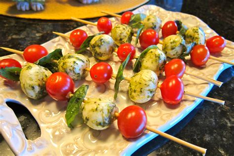 appetizers easy caprese skewers easy and appetizer simply living healthy