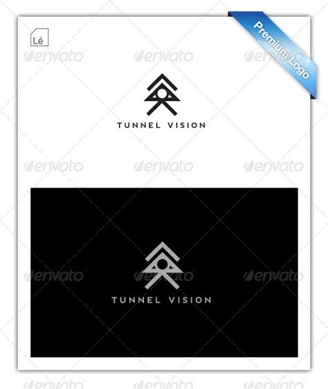 tunnel vision abstract logo graphicriver