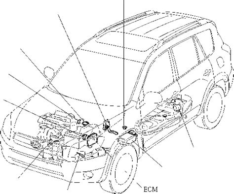 Sensor Ckp Toyota Camry 2az engine system general toyota rav4 car features