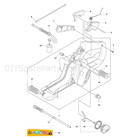 husqvarna 445 chainsaw parts diagram 445 husqvarna chainsaw parts diagram 445 tractor engine