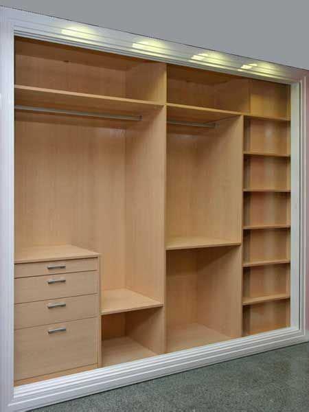 interiores de armarios roperos las 25 mejores ideas sobre armarios empotrados en