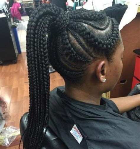 extra long cornrow hairstyles 50 best black braided hairstyles for black women 2018