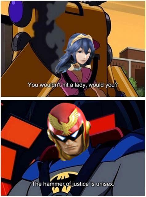 Captain Falcon Memes - super smash bros captain falcon lucina ssb4 cybercitrus