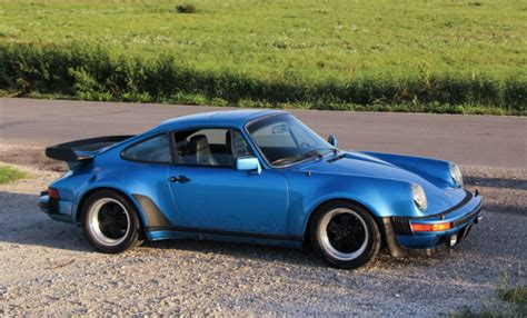 porsche 930 turbo blue 1979 porsche 930 turbo for sale on bat auctions sold for