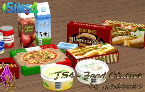 cc food clutter sims 4 sims 3 food clutter newhairstylesformen2014 com