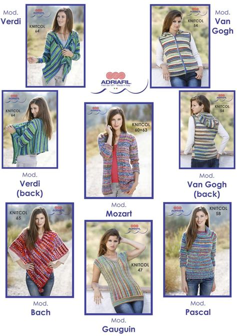 pattern leaflet for knitcol lovers many wonderful patterns available as