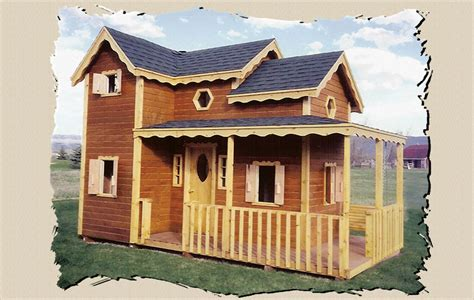 kids play houses childrens wooden playhouse plans woodplans