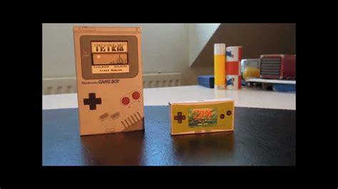 Nintendo Paper Craft - nintendo papercraft
