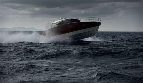 lobster boat in rough seas in rough sea boat design net