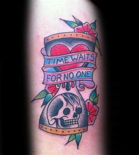 time waits for no one tattoo tattoo collections