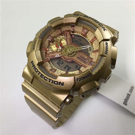 s gold casio g shock analog digital s series