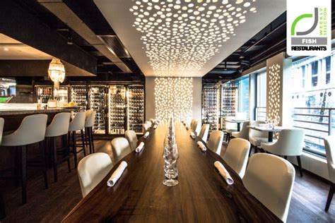 restaurant interior fish restaurants cvche restaurant by liquid interiors