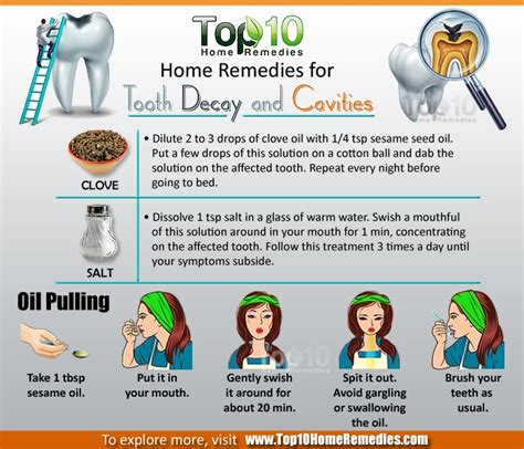 home remedies for tooth decay and cavities top 10 home