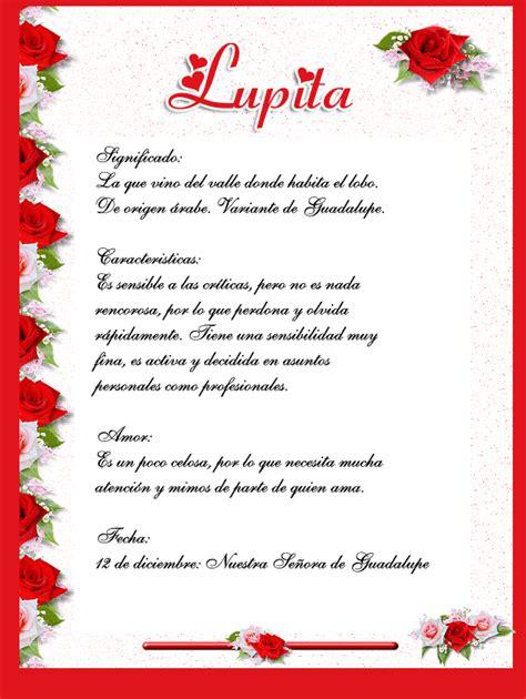 imagenes te amo lupita graffitis de nombre lupita imagui