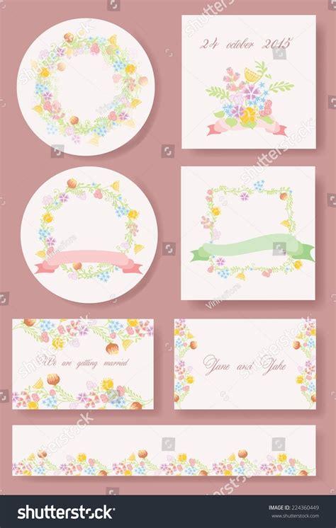 flower birthday card template flower vector banners wedding invitation birthday stock