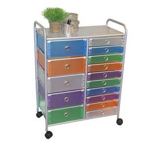 4d concepts 363024 fifteen drawer rolling storage cabinet