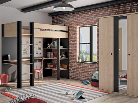 lit mezzanine duplex lit 1 personne scandi design e gallina am pm lit am pm