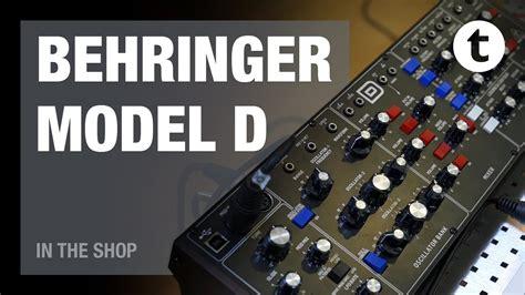 Behringer Model D Thomann