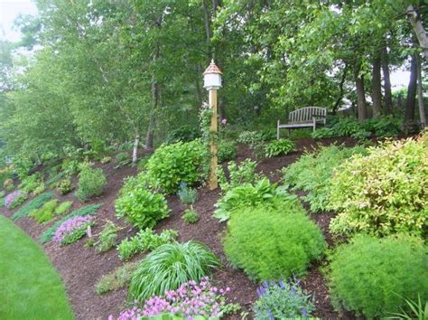 how to landscape a hill slope landscaping landscaping pinterest