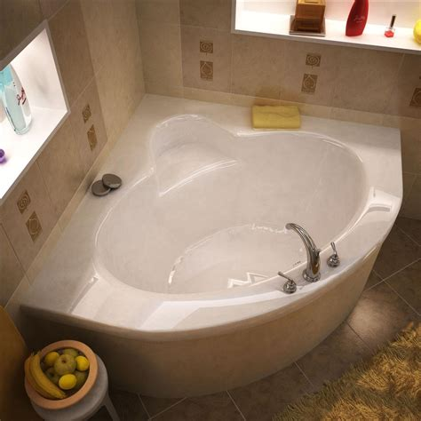 corner soaking bathtub atlantis tubs 6060a alexandria 60 x 60 x 23 inch corner soaking bathtub beyond stores