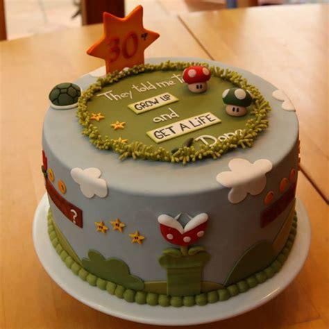 30 geburtstag kuchen geburtstag erwachsene 187 und noch ein supermario kuchen
