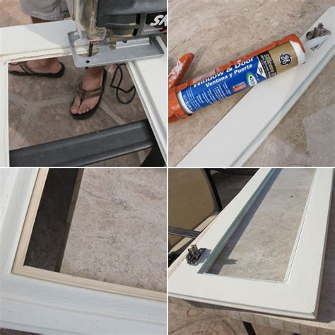 Hometalk How To Install Glass To Your Kitchen Cabinets Installing Kitchen Cabinet Doors