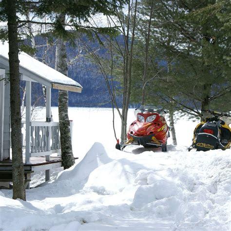 Winter Cabin Rentals Near Me Maine Snowmobiling Fishing Jackmanwinter Outdoor Guide