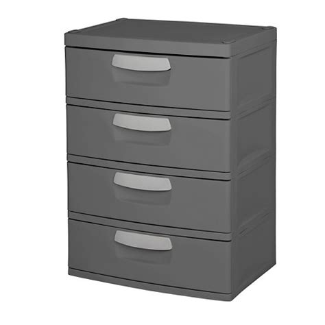 Sterilite Chest Of Drawers by Sterilite 174 4 Drawer Garage And Utility Storage U Target
