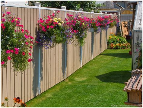 Fence Planter Ideas 10 fantastic fence planter ideas for your garden amazing