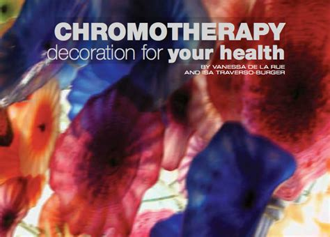 alternative healing through chromotherapy a guide to how color therapy can energize your books chromotherapy is an alternative medicine method it is