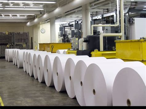 How To Make Paper In Factory - paper factory