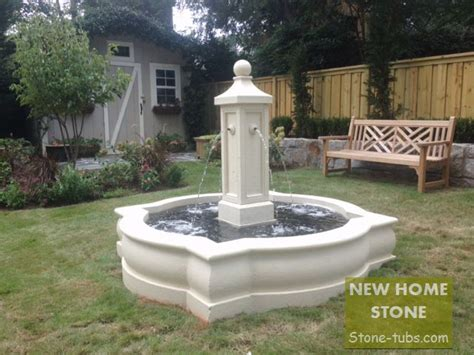 small fountain for home natural white marble stone hand