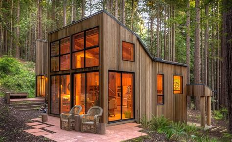 A Cabin In The Redwood Forest   Home Design, Garden