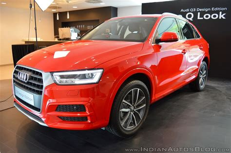 Audi Q3 Design by Audi Q3 Design Edition Showcased In India To Launch