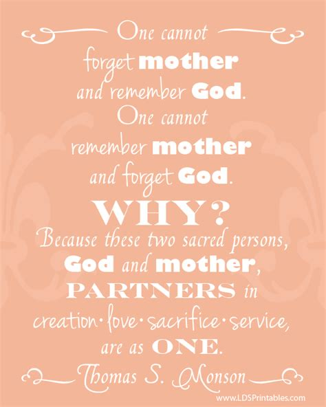 printable lds quotes lds printables preparing for mother s day