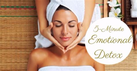 Does Sweating Help You Detox by A 5 Minute Emotional Detox To Cleanse Mentally Eat Lose