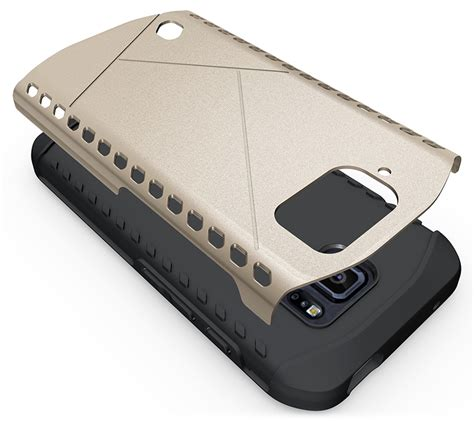 Samsung Galaxy S6 Hybrid Armor Shield Slim Soft Gel Soft tough slim armor shield tpu rubber cover for samsung