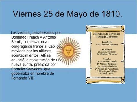 canciones alusiva al 25 de mayo 25 de mayo de 1810 im 225 genes escolares del d 237 a de la