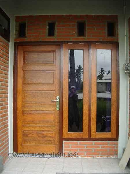 contoh desain kusen pintu kamar kos kusen pintu jendela